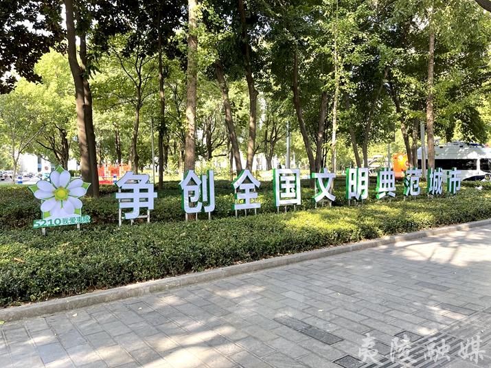 """""""夷""""起创典范丨公益广告扮靓夷陵 文明新风浸润民心"""